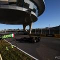 2012 Formula One Jerez Test Day Four Circuito de Jerez, Jerez de la Frontera, Spain 10th February 2012 Jarno Trulli, Caterham F1 Team.  World Copyright:Daniel Kalisz/LAT Photographic ref: Digital Image IMG_7873