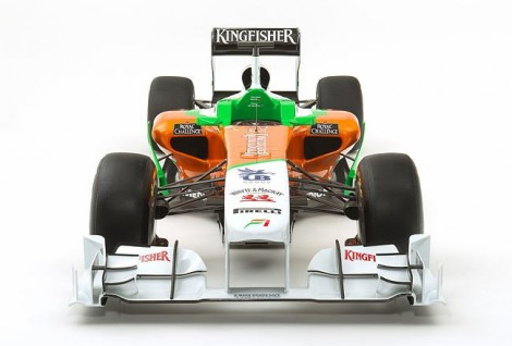 Force India 2011 F1 Car VJM04 Launched
