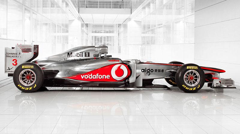 Vodafone McLaren Mercedes MP4-26 Tech Specs
