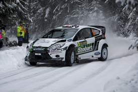 Ostberg leads day one of WRC Sweden