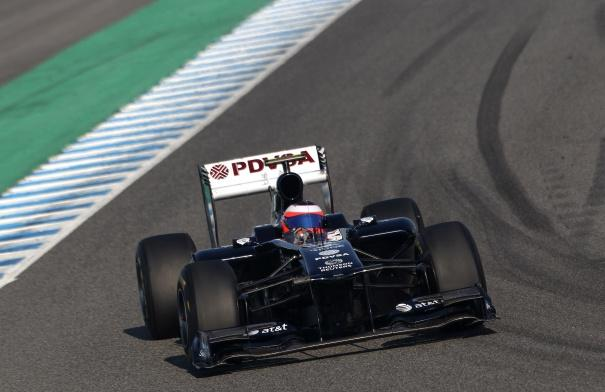 Barrichello sends Williams top as Jerez test ends