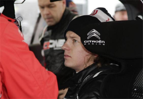 Raikkonen Solid in First NASCAR Test