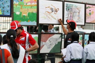F1 world adjusts to new surroundings in India