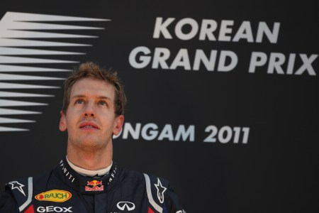 Red Bull secures title with Vettel's tenth win