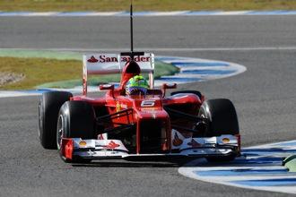 Gene: Ferrari suspension not seen in F1 since 2001