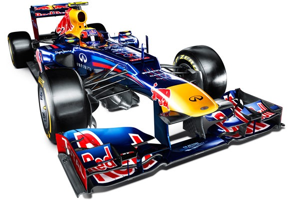 Red Bull unveils the RB8