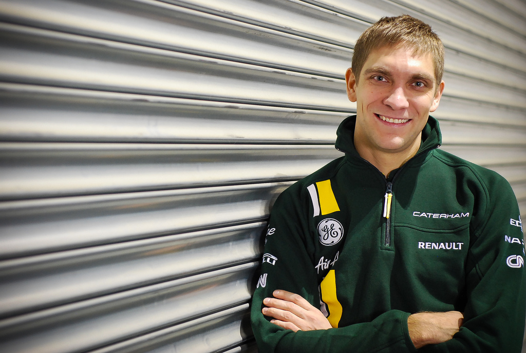 Vitaly Petrov joins Caterham F1 Team