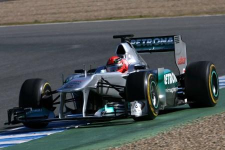 Schumacher fastest on day 2 in Jerez