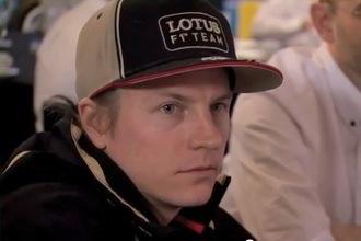 Q&A with Kimi Raikkonen at the Lotus E20 launch
