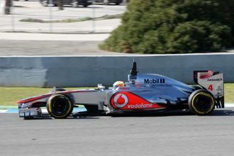 McLaren Jerez Test Day 4