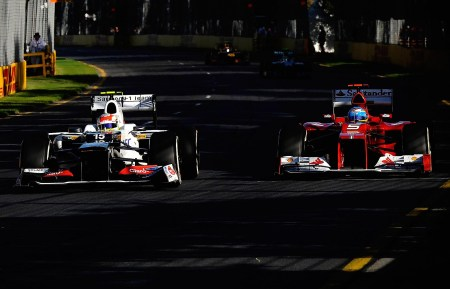 Alonso salvages Ferrari pride