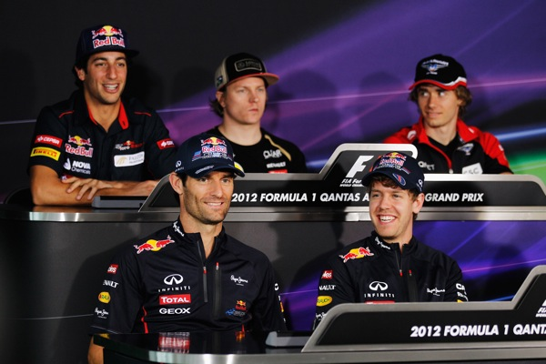 Australian GP drivers press conference