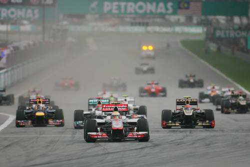 Malaysian Grand Prix suspended due to torrential rain