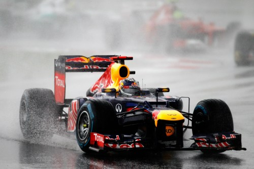 Vettel loses cool as Red Bull loses edge in 2012