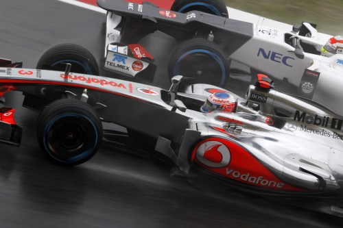 Button hoping to put 'bad day in the office' behind him in China