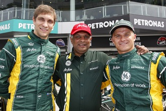 Fernandes rues lack of Malaysian support for Caterham