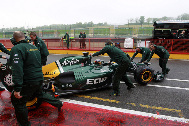 New experience as F1 tests at Mugello