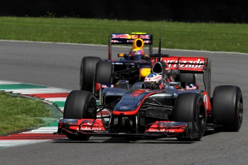 McLaren tested higher nose at Mugello
