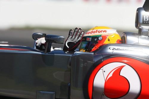 Hamilton confident with McLaren's long-run pace