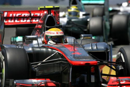 Hamilton positive despite Maldonado incident