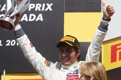 McLaren confirms Sergio Perez