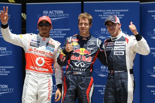 Stranded drivers not expecting exciting race