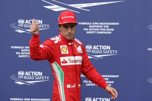 Alonso takes second straight pole in Hockenheim