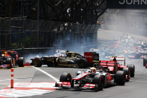 Grosjean, Maldonado the crash-kings of 2012