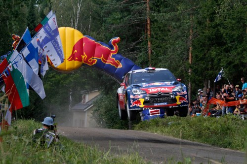 Red Bull to take over world rally series