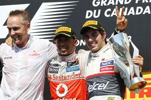 Perez no longer a 'pay driver' says Whitmarsh