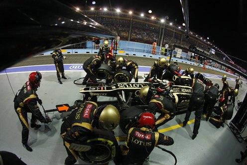 'Double DRS' has slowed Lotus' development
