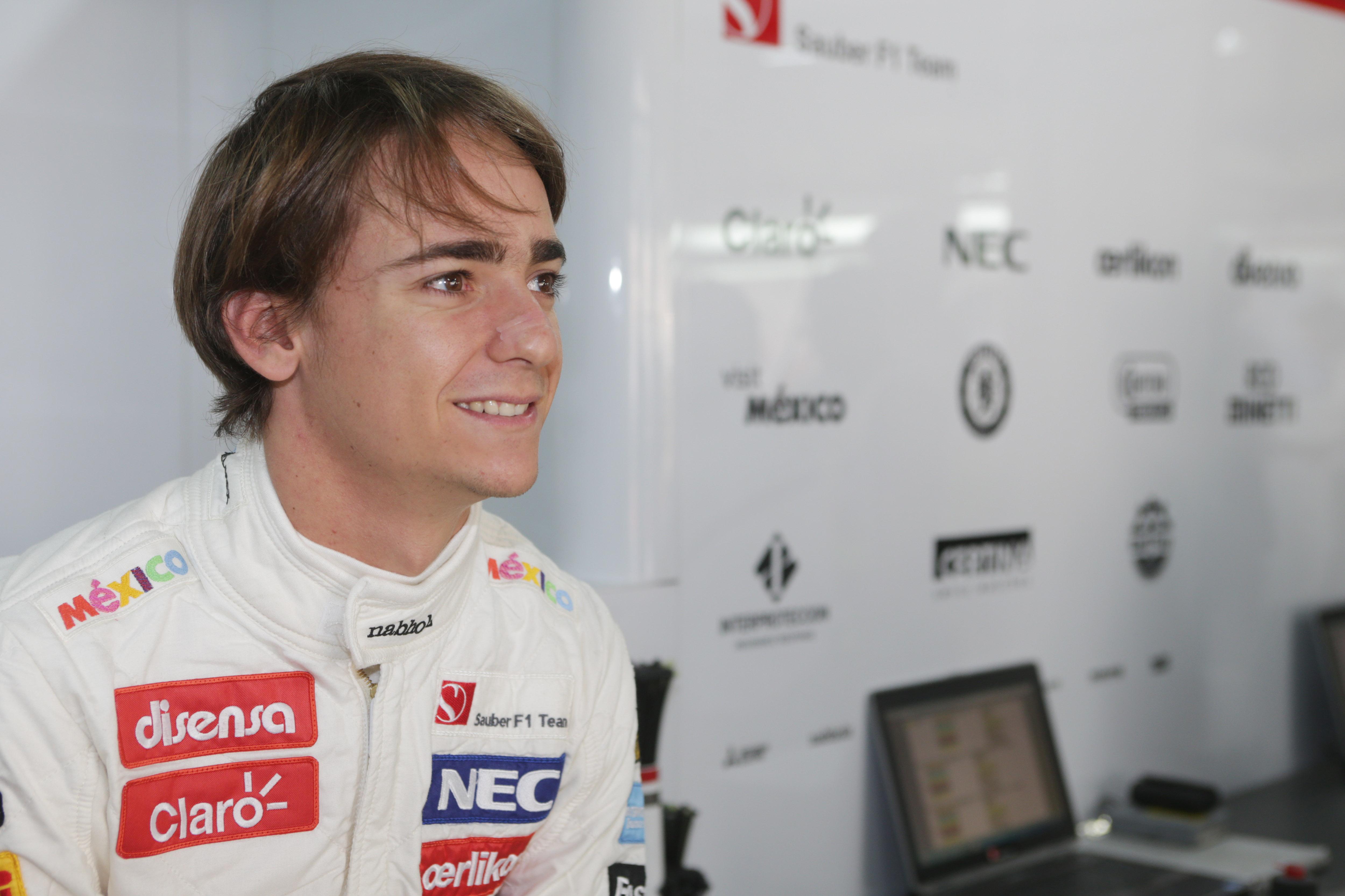 Esteban Gutierrez confirmed at Sauber, Frijns reserve