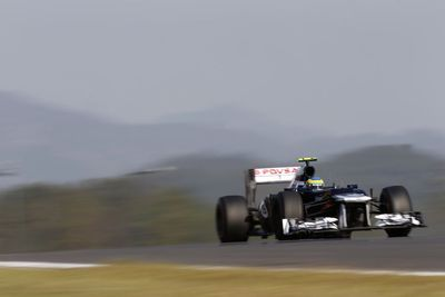 Williams bemoan lack of pace