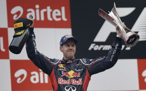 Vettel India win