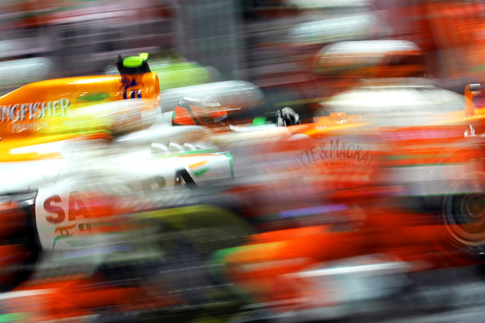 Force India: One podium could decide 6th