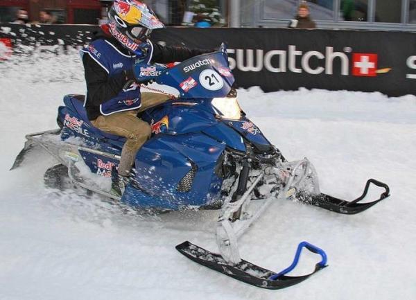 Raikkonen to begin break with snowmobile race