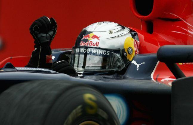 Vettel hits the century