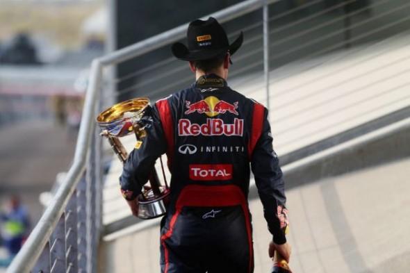 Vettel podium USA