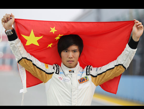 Ma Qinghua to race for HRT in 2013