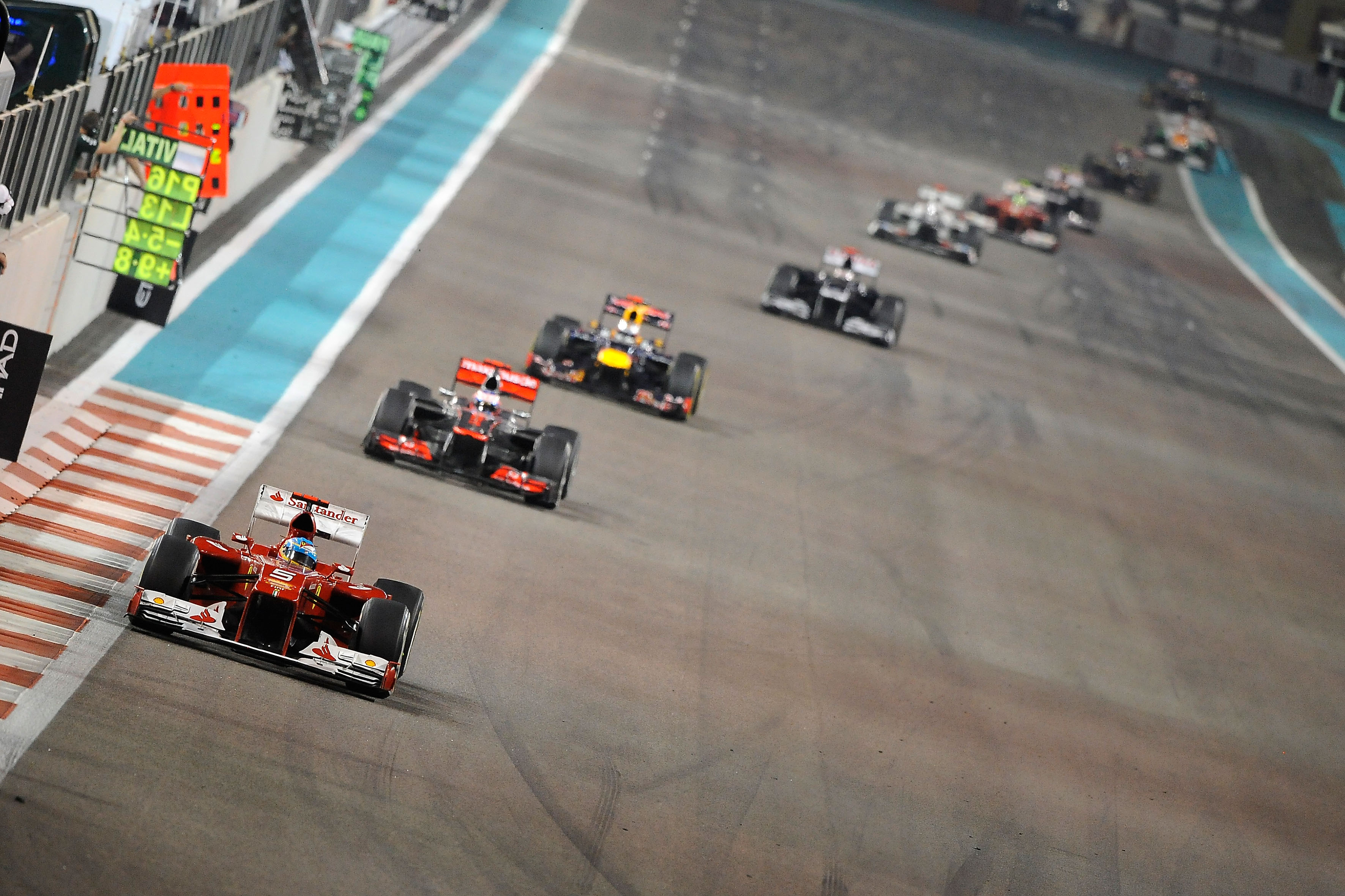 F1 cuts Carbon emissions by 7%