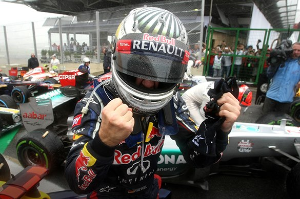 F1 2012 DVD Review: Victorious Vettel