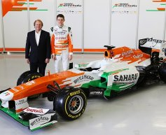 Force India unveils the VJM06 at Silverstone