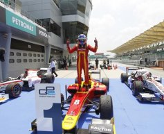 Leimer takes first GP2 win of 2013