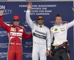 Hamilton says Ferrari will have best 2014 driver line-up