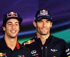 Ricciardo moves into pole for Webber's seat
