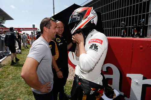 Kimi Raikkonen Spanish GP 2013