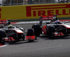 McLaren happy with Perez and Button
