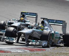 Mercedes playing catch up with new tyres