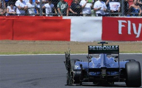 Silverstone tyre