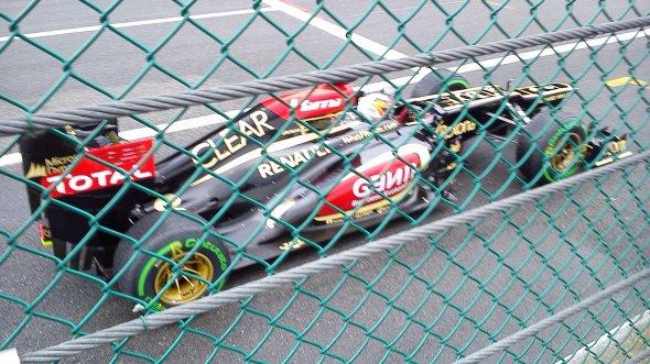 Kimi Raikkonen's practice start